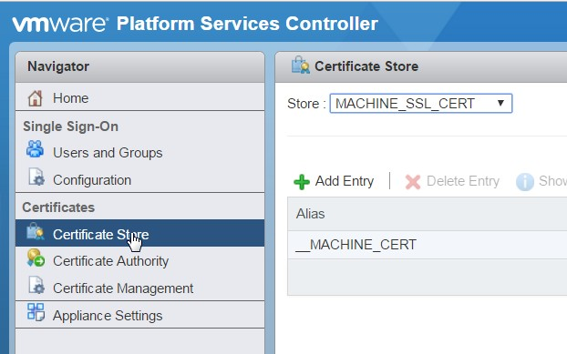 How to check the certificates stored in the PSC? – SDDC Notes | Blog